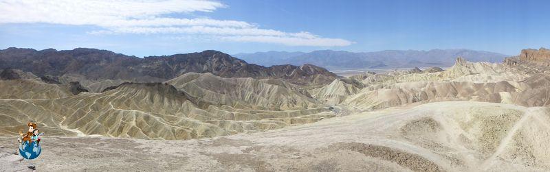 Zabriskie Point en Parque Nacional de Death Valley