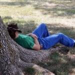 John rests his weary body in Adam-ondi-Ahman