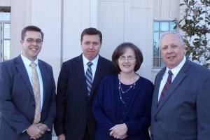 Bob, John, Mom, Dad 29 October 2015 Kansas City Missouri Temple