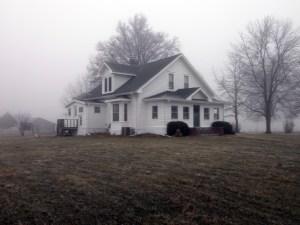 Farmhouse on Christmas Day