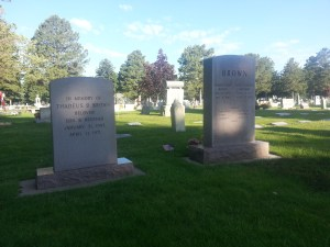 Brown Grave Markers 2