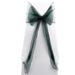 Chair Covers And Sashes For Sale Used Parsons Chairs 50 Wedding Organza Cover Bow Sash Uk Ebay