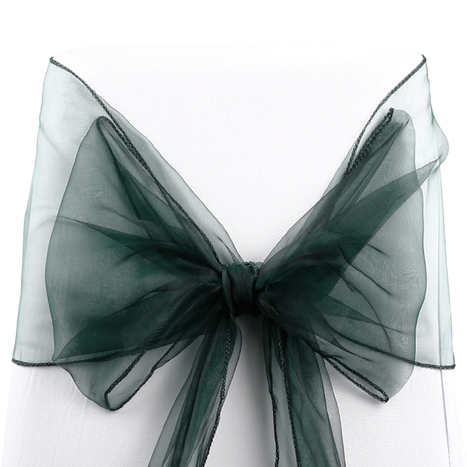 chair covers and bows ebay swing toronto 50 wedding organza cover bow sash for sale uk
