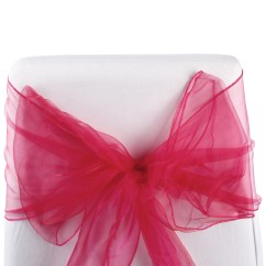 Diy Organza Chair Covers Graco Wooden High Cover 50 Wedding Bow Sash For Sale Uk Ebay