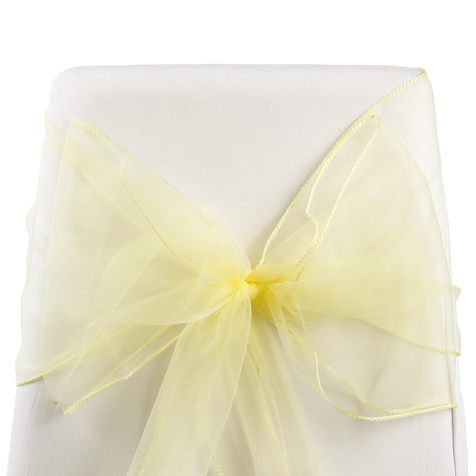 chair covers wedding for sale by electric 50 organza cover bow sash uk ebay