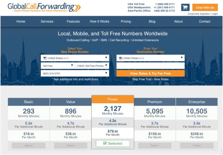 gcf-toll-free-pricing