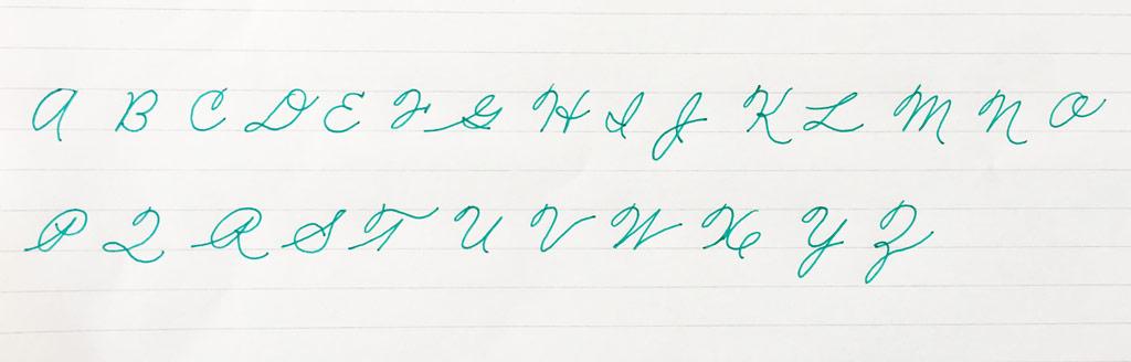american-cursive-alfabeto-maiuscolo