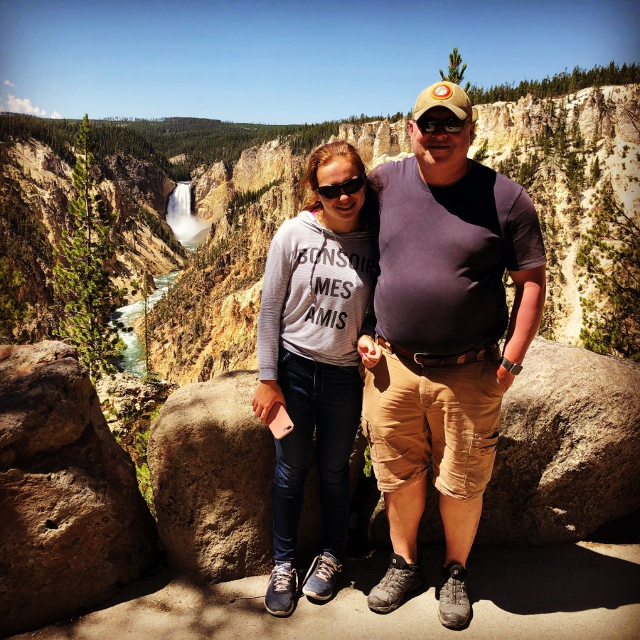 Together at the Grand Canyon of the Yellowstone