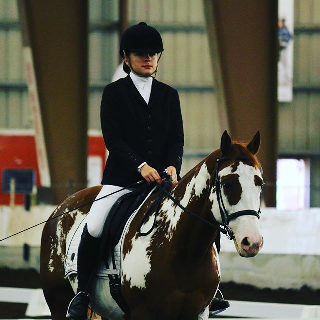 McKenIe and Classy Riding Together