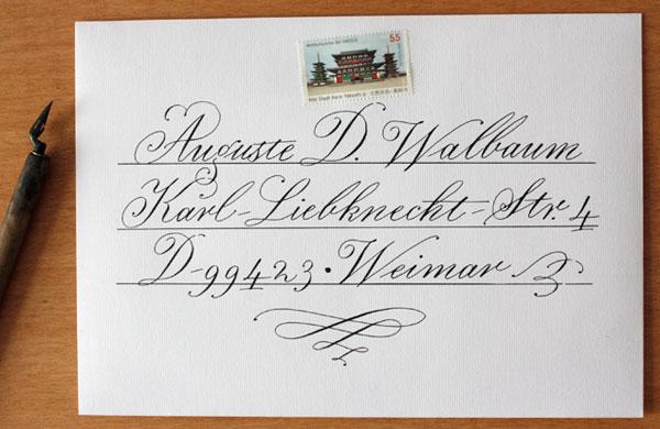 Tobias-D. Albert calligraphy
