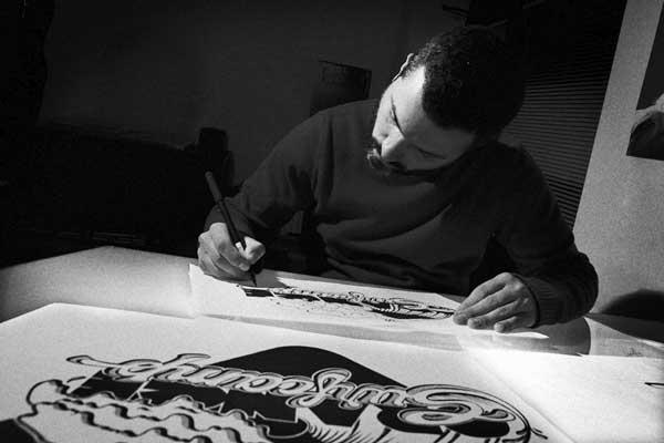 Luca Barcellona calligraphy
