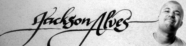 Jackson Alves calligraphy