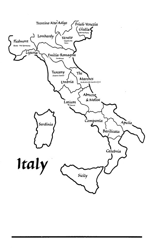 looking for a map of Italy for preschoolers to color