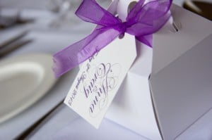 A photo gallery of our calligraphy at weddings around the world