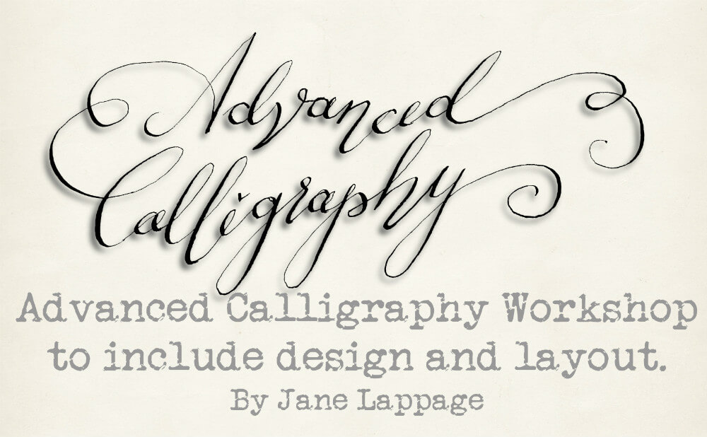 Advanced Calligraphy Workshop