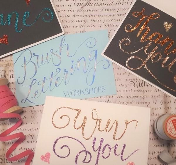 Quick Brush Lettering