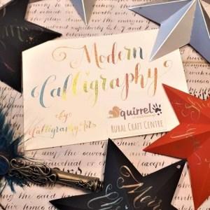 Calligraphy Stars at Squirrel at Wellsborough
