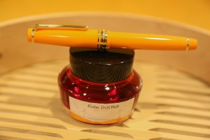 Nagasawa Tarumi Apricot Fountain Pen