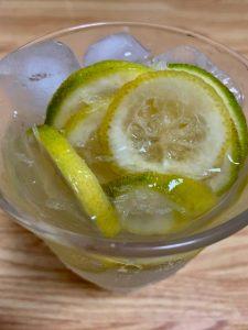 国産レモンで作った自家製レモネード