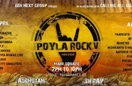 poyla rock calling all gigs