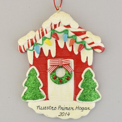 First Home Personalized christmas Ornaments
