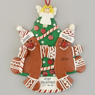 Our First Married Christmas Personalized Christmas Ornament