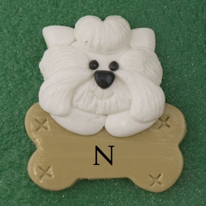 Our Family of 7 with 3 Pets Personalized Christmas Ornament-7013