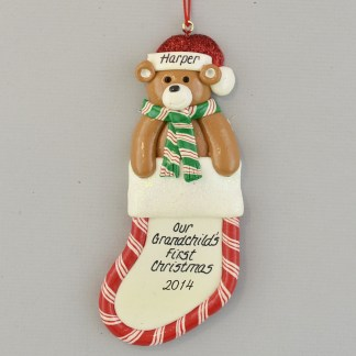 Our Grandchild's First Christmas Personalized Ornament