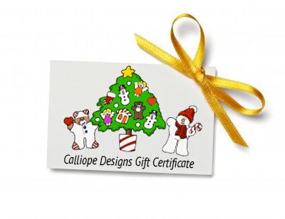 Calliope Designs Gift card