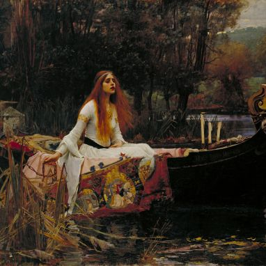 The Lady of Shalott, by John William Waterhouse (1888)