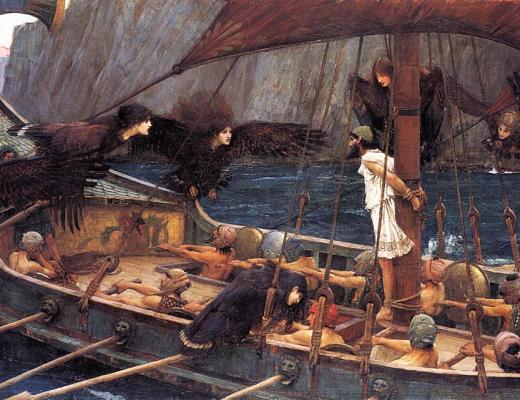 Ulysses and the Sirens (1891) - John William Waterhouse