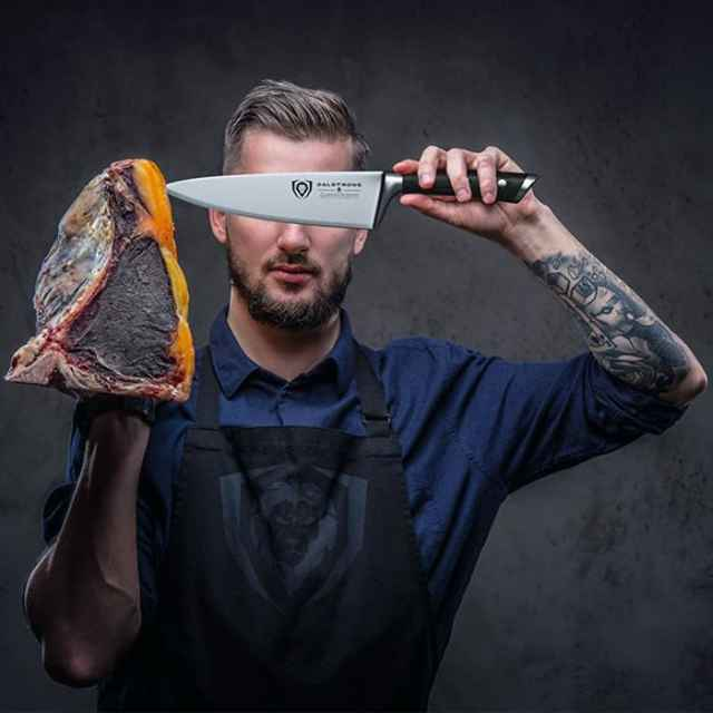 Third close looking view of the Best Chef Knife