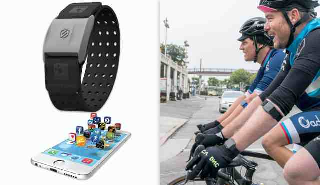 Heart Rate Monitor Armband as the second related product of the Best Waterproof Fitness Tracker