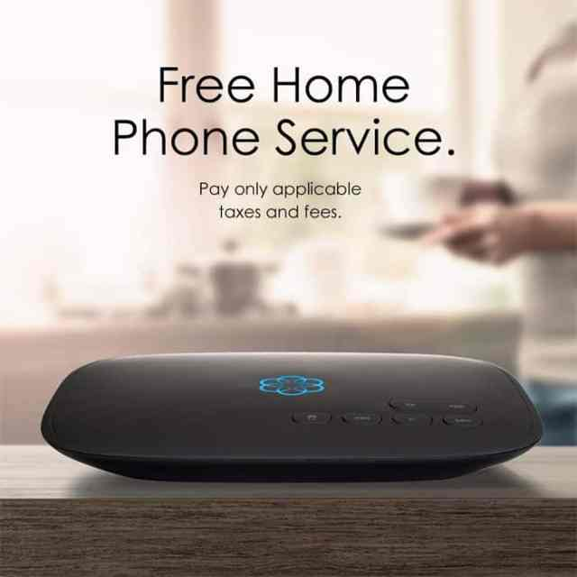 First close looking view of VoIP Home Phone