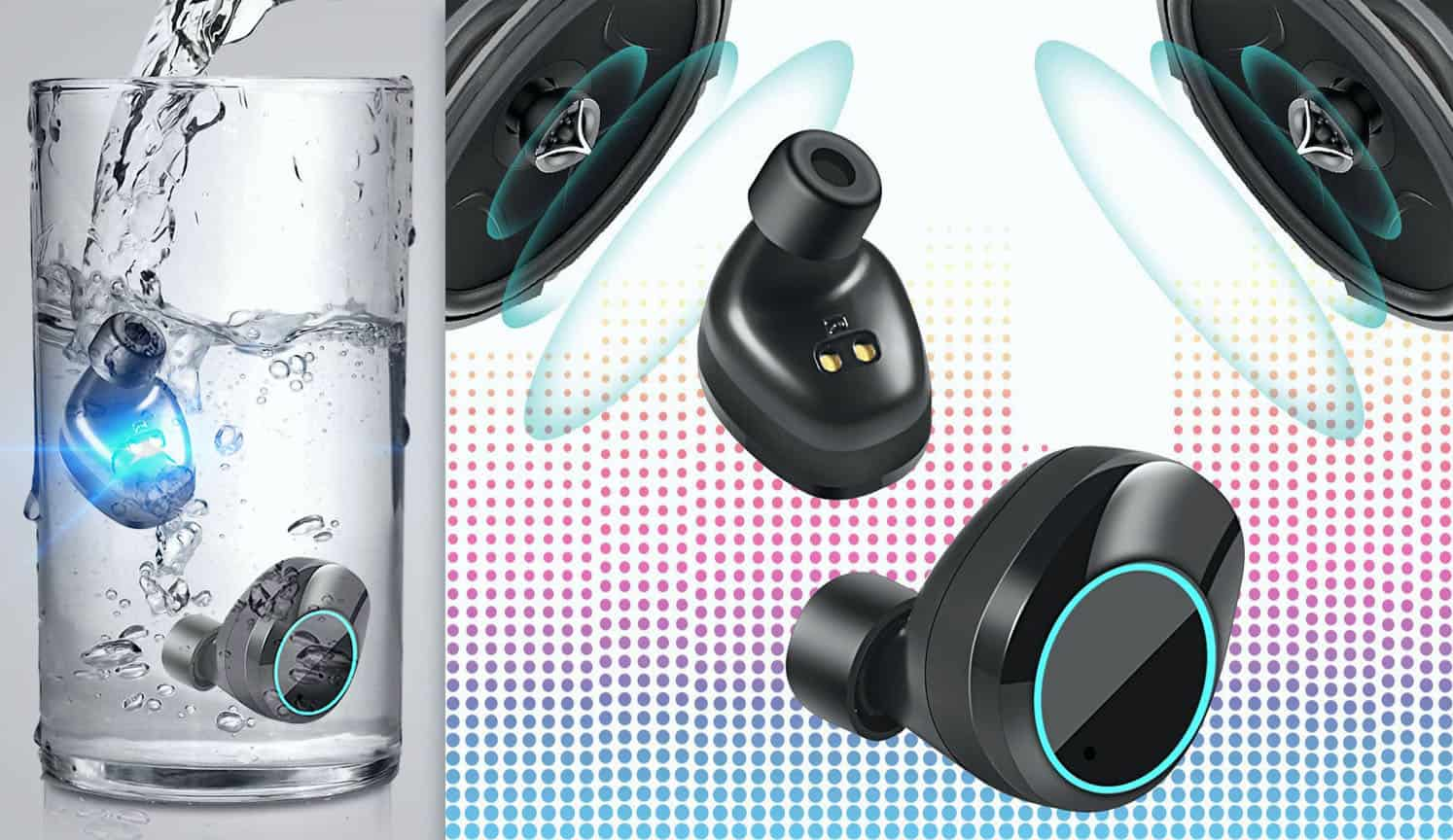 Waterproof Bluetooth Earbuds as the third related product of the Best Earbud Headphones
