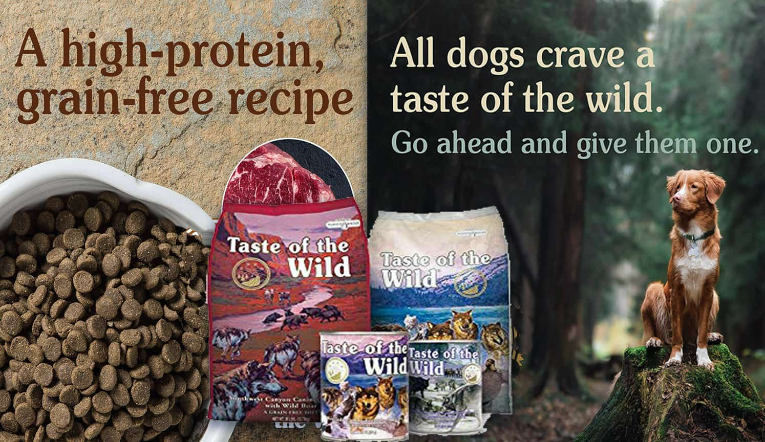 High Protein Dog Food as the second related product of the Best Natural Dog Food