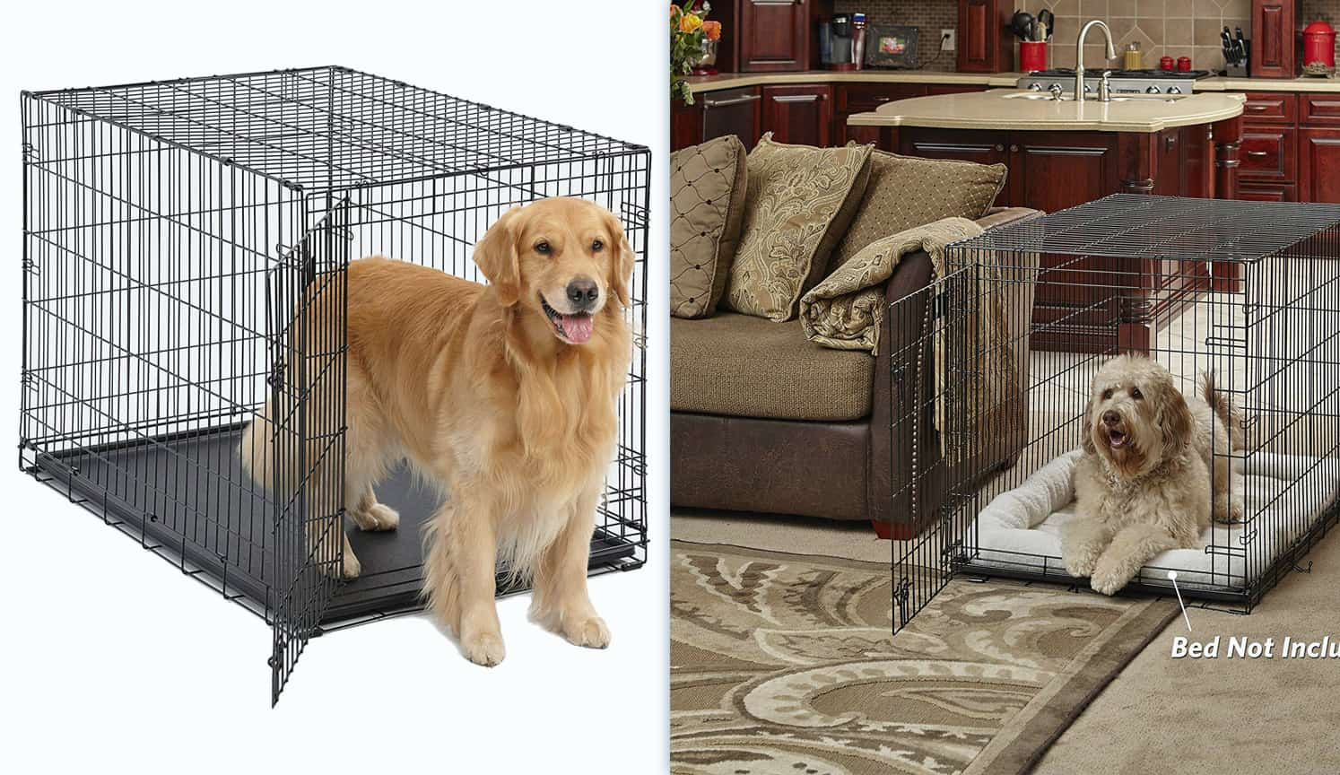 Metal Dog Crate as the third related product of the Best Dog Crate