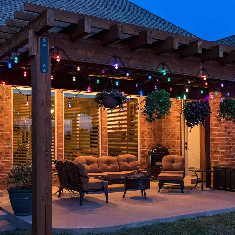 outdoor patio lights outdoor solar