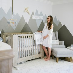 Pottery Barn Baby Rocking Chair Bridal Shower Decorations Boy Nursery Tour - Call Me Lore