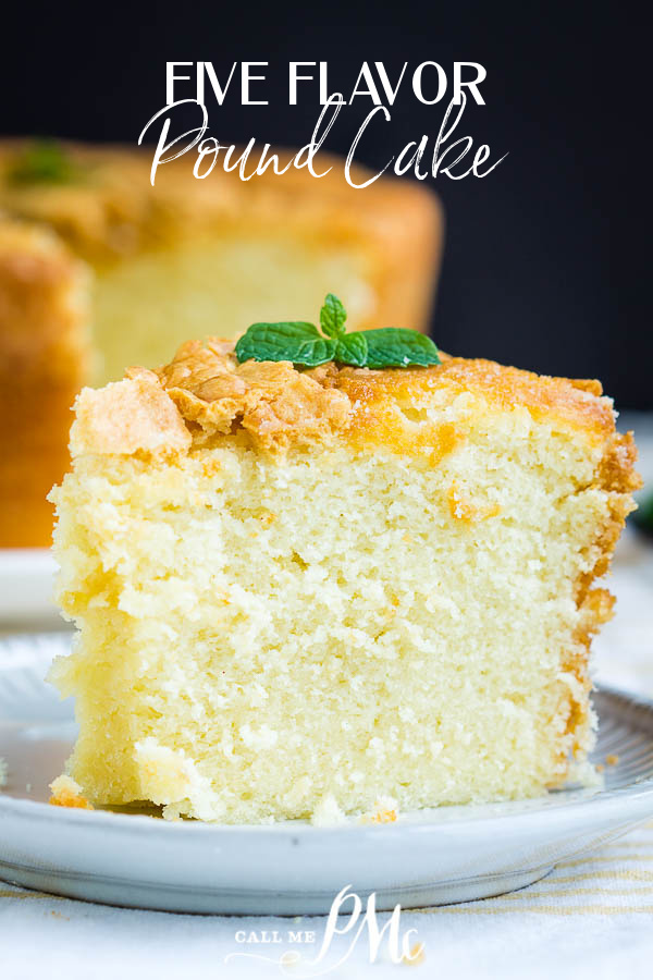 Best 5 Flavor Pound Cake Recipe With 5 Flavor Butter Glaze Call Me Pmc