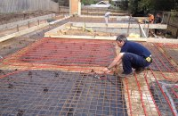 Underfloor Heating Pipe Centres