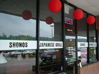 Shonos Japanese Grill