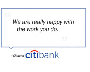 Citibank testimonial