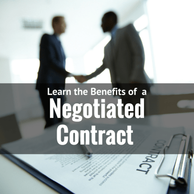 How Businesses Benefit From Negotiated Contracts