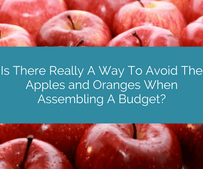 I need a Construction Budget – Is there really a way to avoid the Apples and Oranges when assembling a budget?