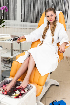 best at home foot spa for relaxing stiff feet