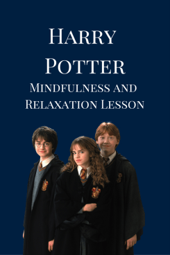 Harry Potter FREE mindfulness lesson plan
