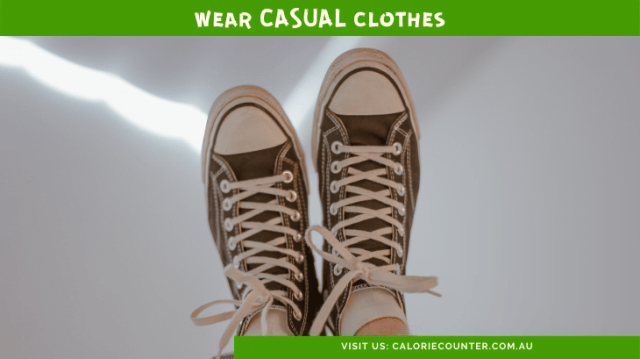 Wear Casual Clothes