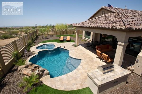 outdoor living california pools