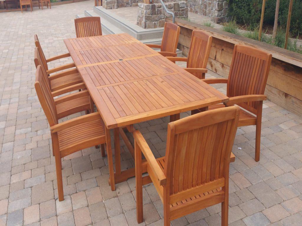 outdoor teak chairs toys r us bean bag furniture cal preserving